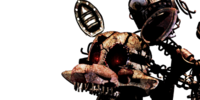 Withered Funtime Foxy