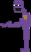 Purple man