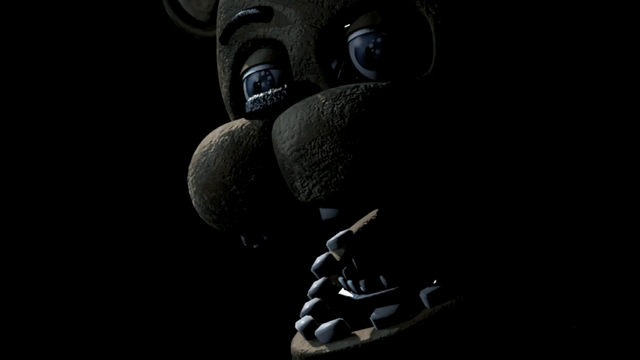 File:Freddy Fazbear close-up FNaF 2.png