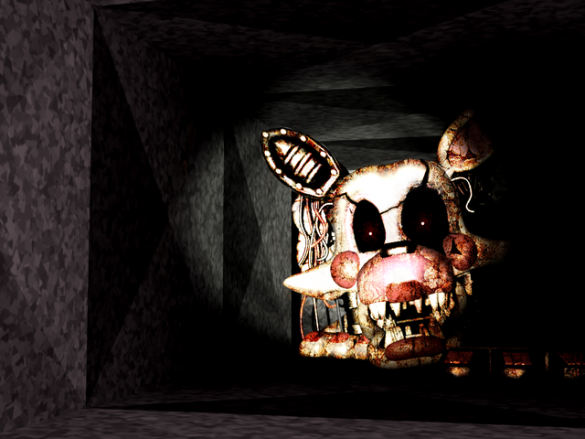 File:Fnaf mangle old in the right air vent by christian2099-d8ici75.png