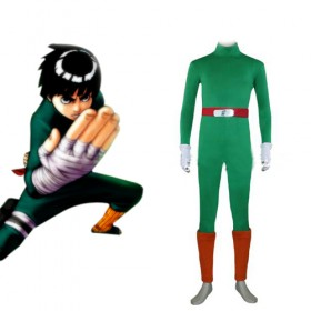 Naruto Rock Lee Men's Cosplay Costume1