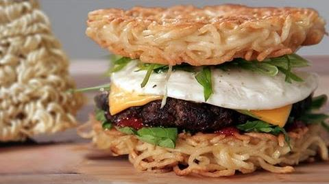 Make a Ramen Burger at Home! Food Trends Food How To
