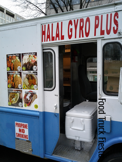 Halal gyro plus