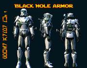 Black Hole Armor