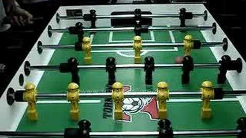 Foosball Wiki Push Kick Shot