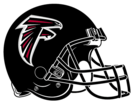 Atlanta Falcons helmet rightface