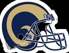 St Louis Rams helmet rightface