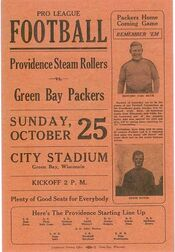 Packers v Steamrollers
