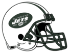 New York Jets helmet rightface