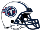 Tennessee Titans helmet rightface