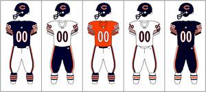 NFCN-Uniform-jersey pants combination-CHI