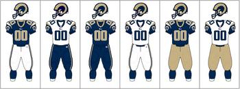 NFCW-Uniform-jersey pants combination-STL
