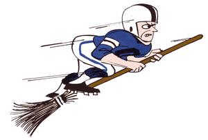 Flying sweeper
