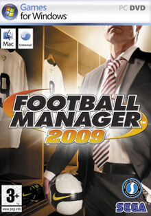 Football Manager 2009 cover