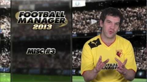 Football Manager 2013 Video Blog Miscellaneous 3 (English version)