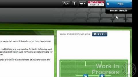 Football Manager 2013 Video Blogs FM Classic 3 - Match Day (English version)