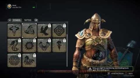 Pinkachu Plays For Honor Closed Alpha - Viking Customization