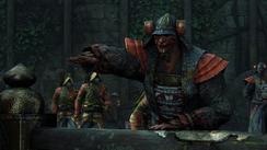 Reconnaissance - leader calling for archers
