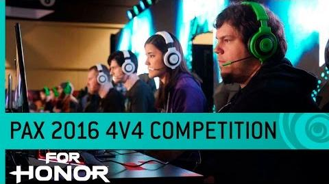 For Honor Gameplay 4v4 Dominion Mode - PAX 2016 US