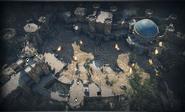 Citadel Gate 2v2 map overview