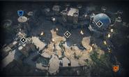 Citadel Gate 4v4 map overview