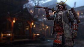 Samurai - kensei hero