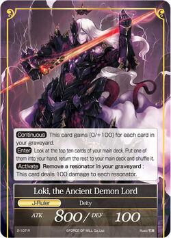 Loki, the Ancient Demon Lord