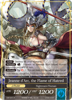 Jeanne d'Arc, the Flame of Hatred