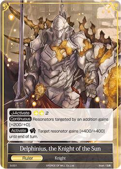 Delphinius, the Knight of the Sun