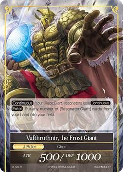 Vafthruthnir, the Frost Giant