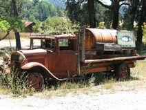 1930 Ford AA Tank Truck