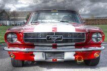 Ford Mustang at Goodwood