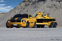 Ford Mustang + Jet Cesam Parotech