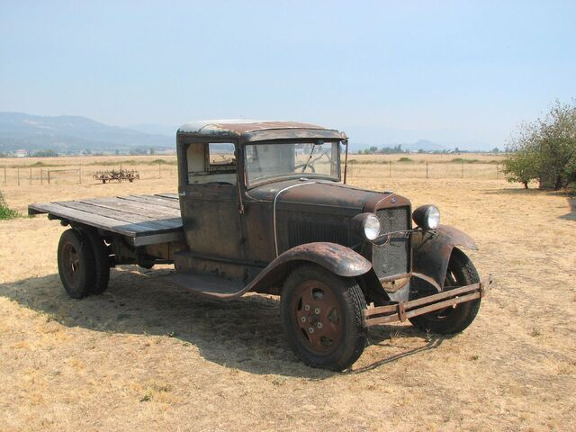 File:1931 Model AA Ford Truck, Eagle Point, OR -2.jpg