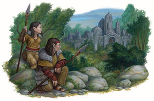 Ghostwise halflings - Frank Carl