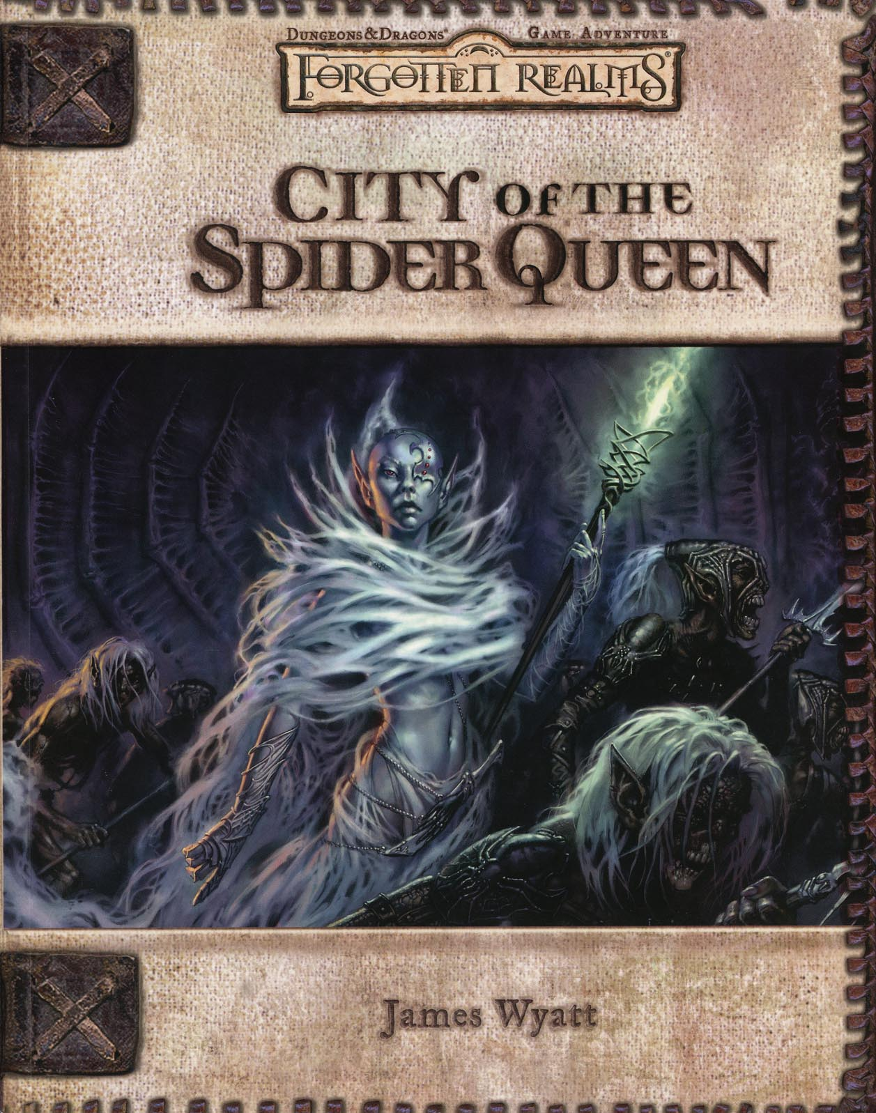 Cover of City of the Spider Queen