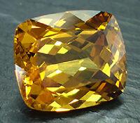 Garnet-faceted-yellow