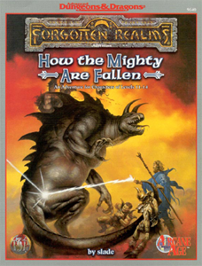 Cover of How the Mighty Are Fallen