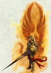 Aglarondan griffonrider - Matthew D. Wilson
