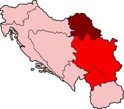 Map of SAP Vojvodina