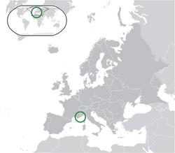 Map of Monaco