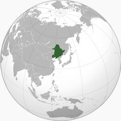 Map of Manchukuo