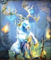 Malorne the White Stag TCG WotA 001 S-010