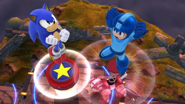 File:SSMB WiiU - Sonic Megaman Screenshot.jpg