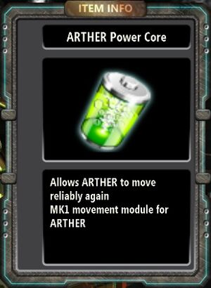 ARTHER Power Core