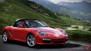 Porsche Boxster S in Forza Motorsport 4