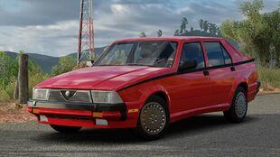 Alfa Romeo Milano Quadrifoglio Verde in Forza Horizon 3