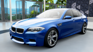 The BMW M5 (F10) in Forza Horizon 3