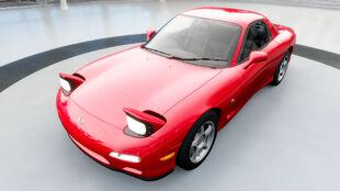 The Mazda RX-7 (FD) in Forza Horizon 3