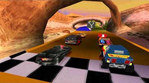 Hot WheelsTurbo Racing - Gameplay